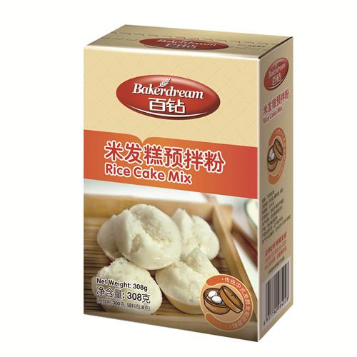安琪百钻米发糕预拌粉308g